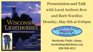 Monticello Library: Wisconsin Lighthouses @ Monticello Public Library