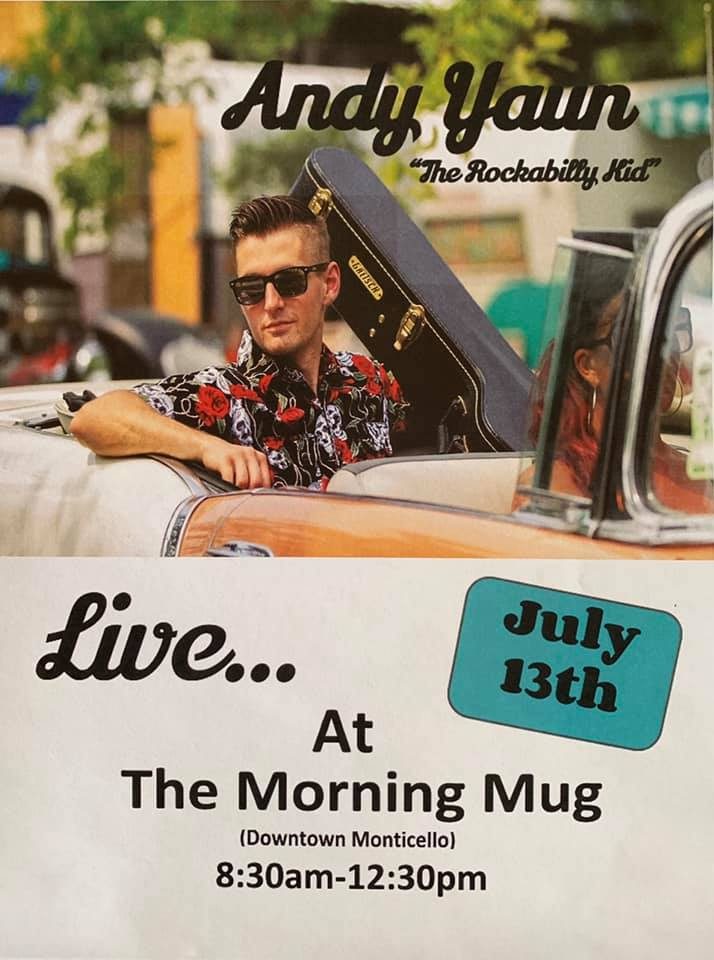 "Andy Yaun, ""The Rockabilly Kid"" LIVE @ The Morning Mug @ The Morning Mug"