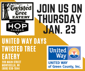 United Way Days at Twisted Tree Eatery @ Twisted Tree Eatery