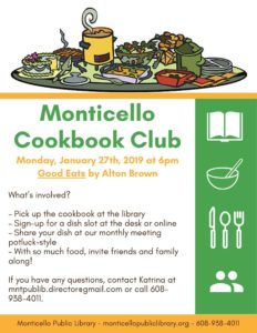 Monticello Cookbook Club: Good Eats