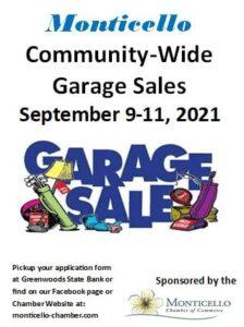 Monticello Garage Sales